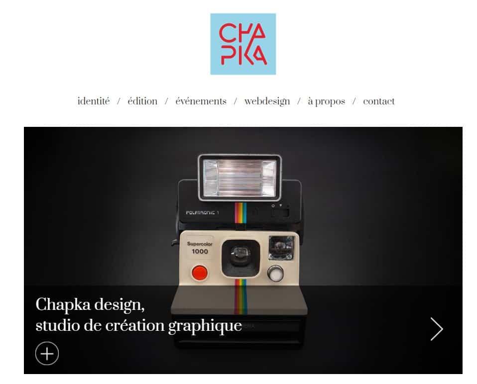Graphiste Annecy Chapka design