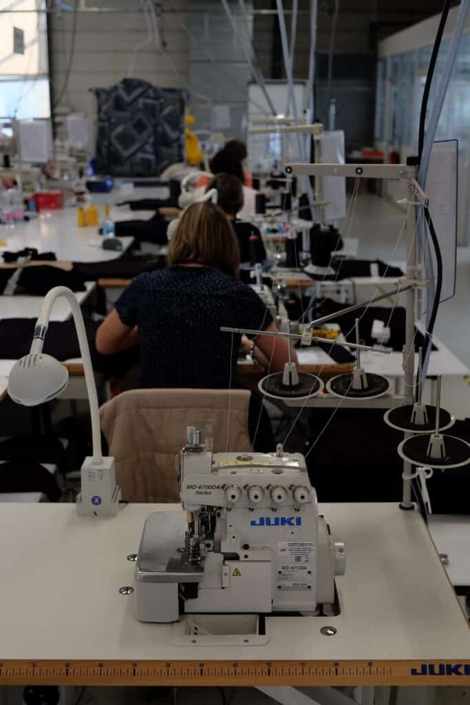 Atelier de tissage responsable