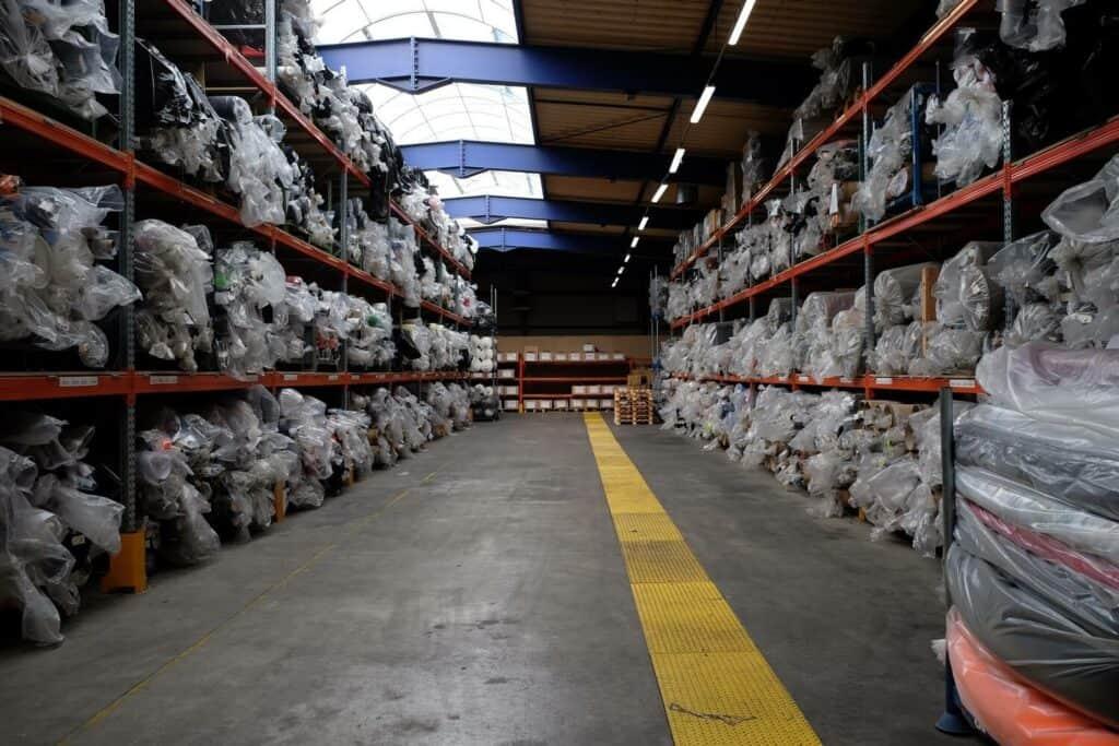 upcycling usine de tissage