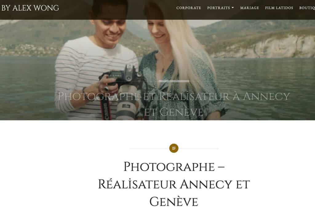 Créateur d'émotions - photographes professionnels annecy