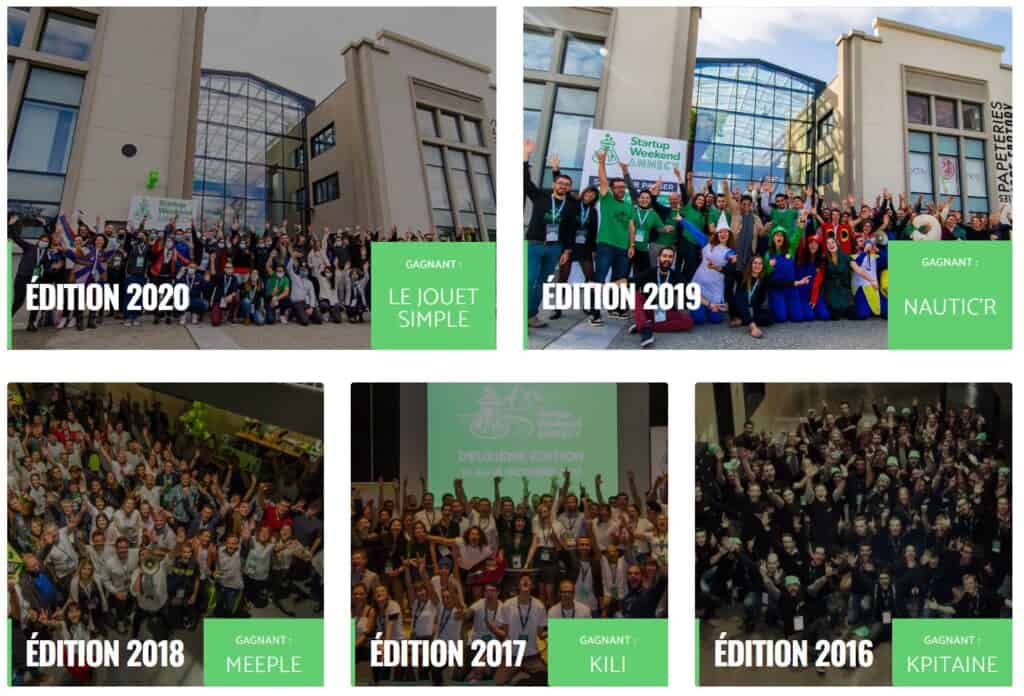 Startup weekend les promotions - Annecy
