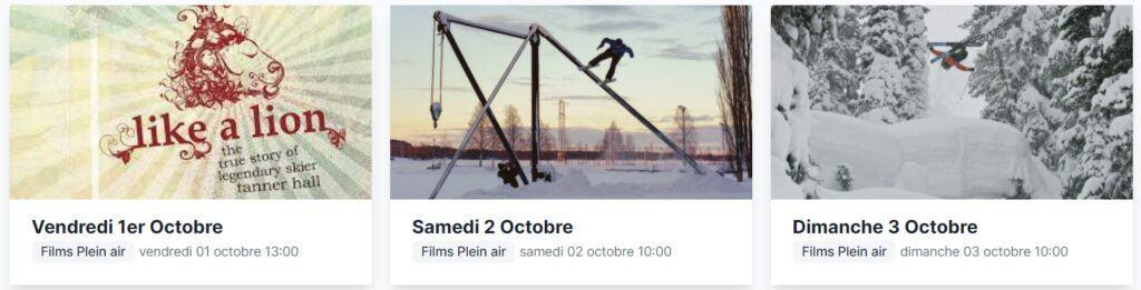 film plein air high five festival